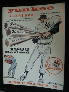 1963 NY YANKEE YEARBOOK REVISED