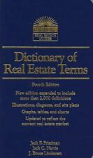 Dictionary of Real Estate Terms  4th ed   Barron s Real Estate Guides