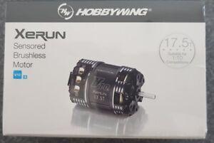 HOBBYWING XERUN  SENSORED V10 G3 BRUSHLESS STOCK RACE MOTOR 17.5T