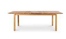 DENIA WOODEN 8 SEATER EXTENDABLE DINING TABLE