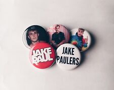 Set of 5 Jake Paul Buttons