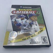 Backyard Baseball (Nintendo GameCube, 2003) Complete CIB Tested & Working