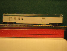 N Concor smooth side Railway Post Office RPO baggage passenger car OB undecorate