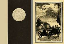 Chalmers 1919 - An Illustrated Book About the Product of the Chalmers Motor Car