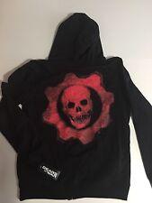 Gears Of War Mens Medium Zipper Hoodie Jacket Gamer Clothing Sweatshirt