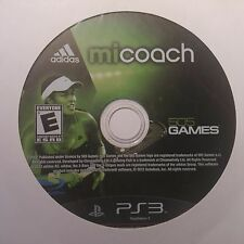 Mi Coach by adidas (PS3) Video Game DISC ONLY #8760