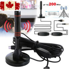 2019 Best Portable TV Antenna Indoor Digital HD Freeview Aerial CA STOCK