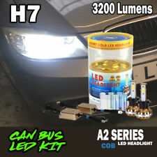2016 H7 Xenon Extreme 30W 3200LM COB CREE LED Headlight Kit CanBus blinkers HID