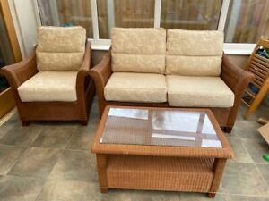Conservatory rattan wicker furniture