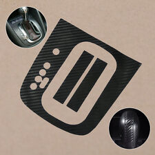Carbon Fiber Gear Panel Sticker DSG Decal For VW Golf MK6 GTI R20 AT Automatic