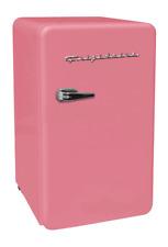 New Pink 3.2 Cu. Ft. Retro Mini Fridge Compact Refrigerators Dorm Office Freezer