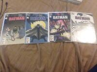 BATMAN #404 405 406 407 YEAR ONE DC COMPLETE FULL COMIC LOT
