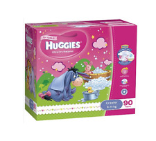 Huggies Nappies for Crawler Baby 6-11 kg - 90 Pieces