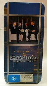 Boston Legal The Complete Series DVD Seasons 1-5 Tin Box