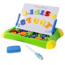 Drawing board with 26 magnetic letters and 20 numbers Educational toys, for Kids