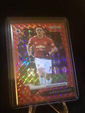 Alexis Sanchez Red Mosaic 2019-20 Prizm Premier League /109 Manchester United
