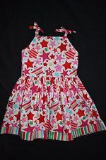 Christmas Star christmas dress, size 5 - handmade