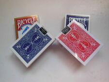 LOT 3 option C- 4 JEUX ENTIERS SPECIAUX - BICYCLE - DOS BL OU RO -Tour de MAGIE