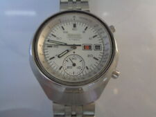 Seiko Chronograph Mens Watch 6139-7100 Automatic Day & Date Helmet SN. 678889