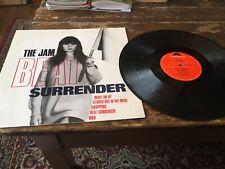 "THE JAM, 'BEAT SURRENDER', 12"" EP POLYDOR POSPX540 1982"