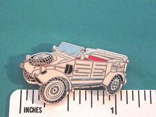 VW Volkswagen KUBELWAGON  THING - hat pin , lapel pin , tie tac GIFT BOXED