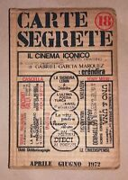Carte Segrete 18 - Anno VI - aprile-giugno, 1972 - Rivista trimestrale