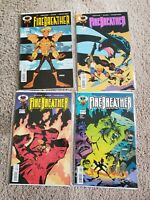 Firebreather #1-4 VF/NM complete series - image comics - phil hester
