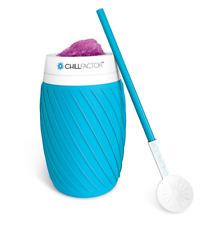 Chill Factor™ ICE TWIST SLUSHY MAKER - Blue ~NEW~