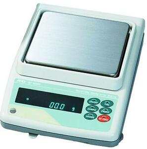 A&D GF-1200 Precision Lab Balance, Compact Jewelry Scale 1210g X 0.01g, NEW