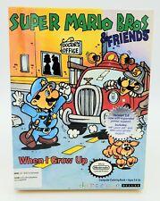 Super Mario Bros & Friends When I Grow Up 1991 PC DOS Game RARE Nintendo EUC