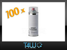 100 x T4W Pre-filled aerosol spray can female valve for spray filling machines