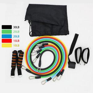 2021 Power Fitness Band Bänder Widerstandsbänder Resistance Bands Set