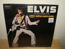 "ELVIS PRESLEY......""ELVIS AS RECORDED AT MADISON SQUARE GARDEN""........OOP ALBUM"
