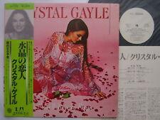 PROMO WHITE LABEL CRYSTAL GAYLE JAPAN OBI