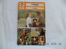CARTE FICHE CINEMA 1993 SOMMERSBY Richard Gere J.Foster