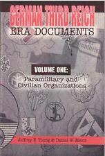 German WWII Identity documents-all three volumes.