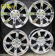 "20"" NEW GMC Yukon Denali Chevy Silverado Tahoe Escalade Chrome Wheels Rims 5409"