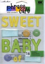 "Jolee's Boutique ""SWEET BABY"" Dimensional Scrapbooking Sticker AK-82"