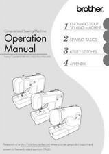Brother V62 Sewing Machine Owners Instruction Manual Reprint