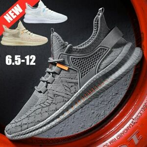 Men's  Mesh Sneakers Athletic  Running Outdoor Casual Tennis Gym Sports Shoes
