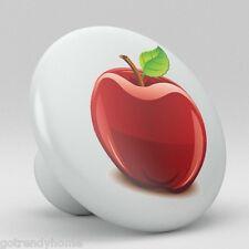 Apple Ceramic Knobs Pulls Kitchen Drawer Cabinet Vanity Closet 396 Pantry