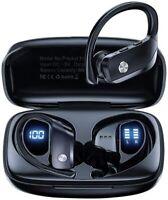 Wireless Earbuds Bluetooth 5.0 Running Headphones Waterproof with Charging Case