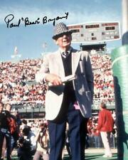 REPRINT - PAUL BEAR BRYANT Alabama Crimson Tide Signed Autographed 8x10 Photo RP