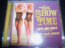 Marvelous Musicals Show Time Guys & Dolls Paint Your Wagon Jane Soundtrack CD