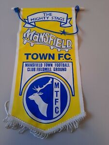 Vintage Mansfield town Fc Pennant