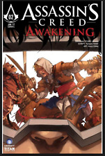 ASSASSINS CREED #2 AWAKENING COVER C OIWA  1ST PRINT UBISOFT TITAN