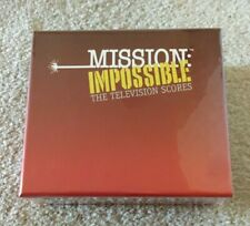 Mission Impossible: The TV Scores SOLD OUT Ltd 1,500 OOP 6 CD Soundtrack Box Set
