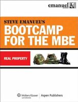 Bootcamp for the MBE : Real Property, Paperback by Emanuel, Steven L. (EDT), ...