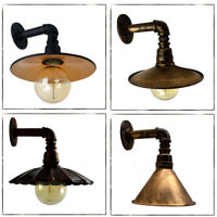 Vintage Industrial Rustic Unique Style Wall Light Waterpipe Wall Lamp Steam punk