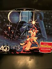Orlando Megacon 2017 Exclusive 40th Anniversary Star Wars Tin Lunch Box